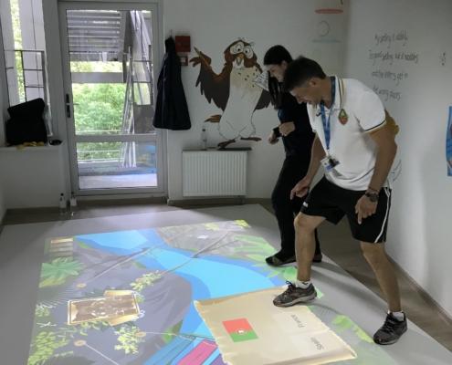 Interaktiv læring er en succes i Ukraine